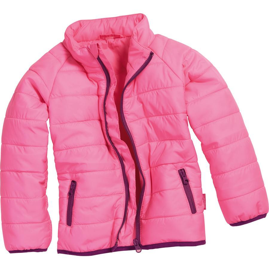 Playshoes Gewatteerd jasje uni roze
