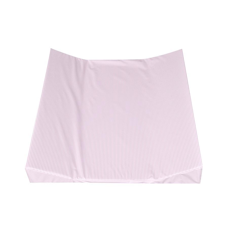 julius z llner wickelauflage 2 keil mulde streifen rosa. Black Bedroom Furniture Sets. Home Design Ideas