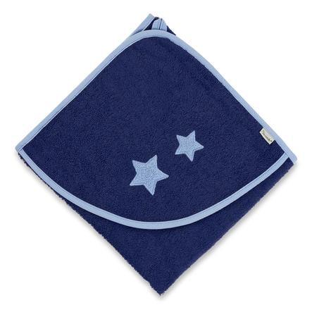 Sterntaler Badetuch Stanley 100 x 100 cm blau