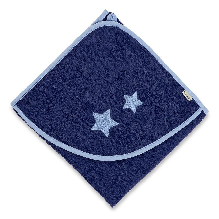 Sterntaler Håndklæde Stanley 100 x 100 cm blå