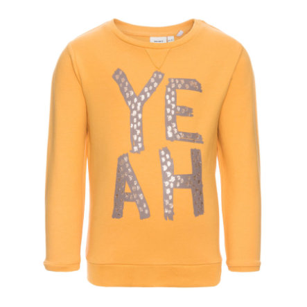 name it Girls Sweatshirt Larke golden apricot