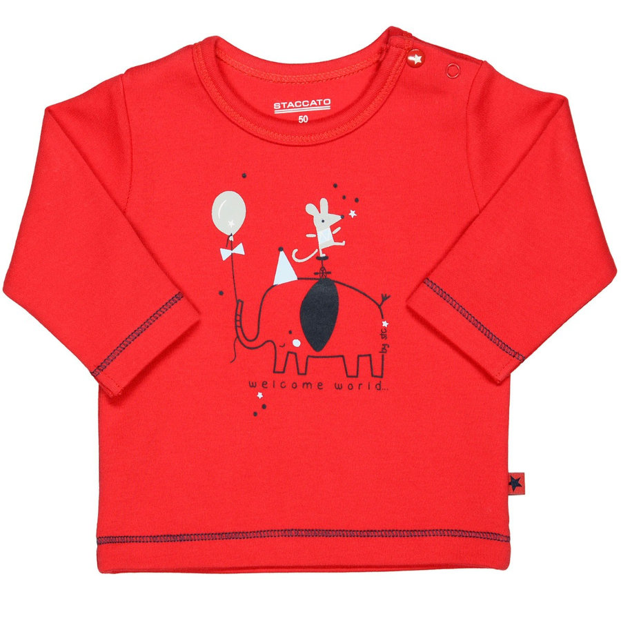 STACCATO Boys Shirt bright red