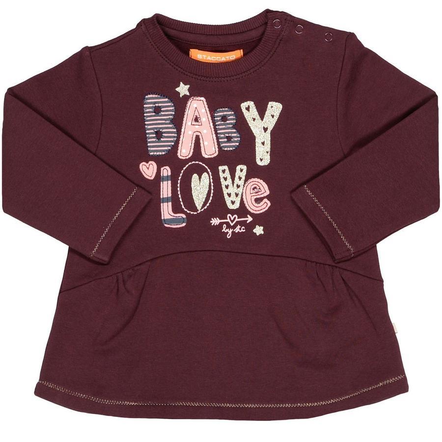 STACCATO Girl Sweatshirt z ciemną jagodą