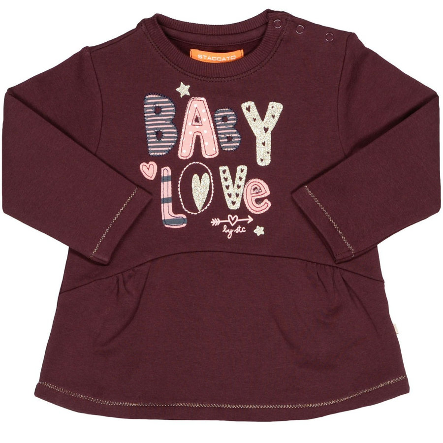 STACCATO Girls Sweatshirt dark berry