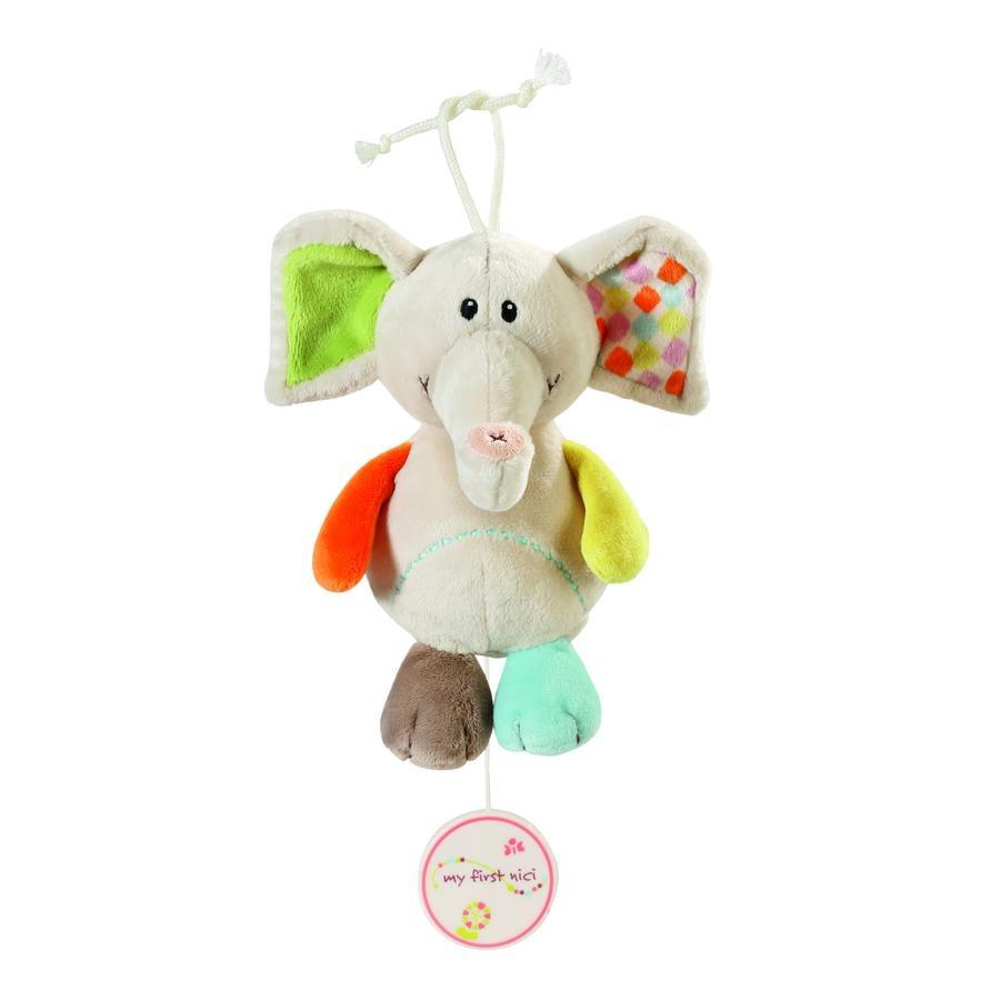 NICI My First NICI Hrací slon Dundi 18 cm
