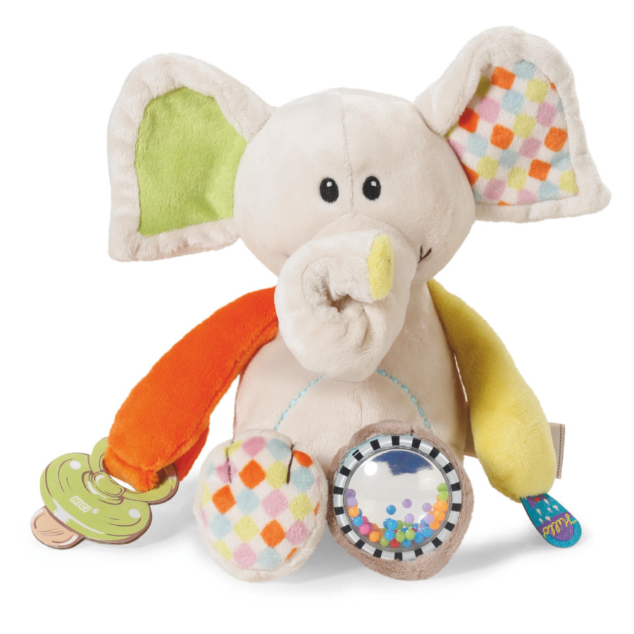 NICI My First NICI Activity Schmusetier Elefant Dundi 23 cm