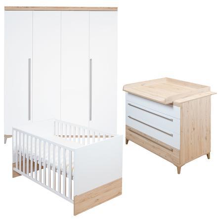 PAIDI Kinderzimmer Remo 4-türig schmal