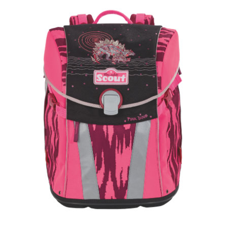 SCOUT Tornister Basic Sunny - Pink Dino
