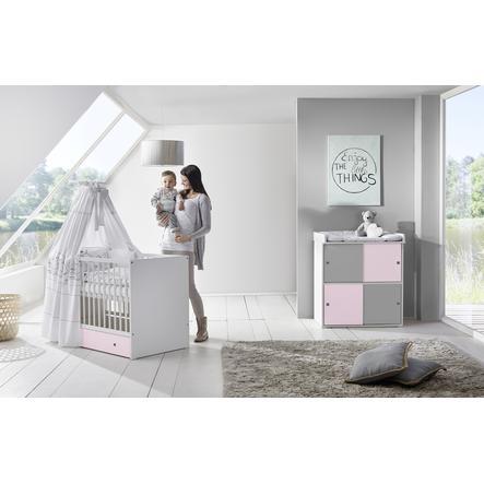 Schardt Kinderzimmer Eco Silber | Schardt Sparset Clic Rosa Grau Baby Markt At