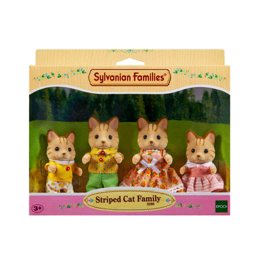 Sylvanian Figurki Families® Familie - Koty: Rodzina Fauch Fauch