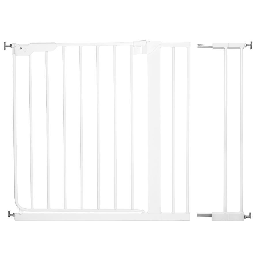 Baby Dan Danamic Indikator Puerta de seguridad blanca incluye 2 extensiones