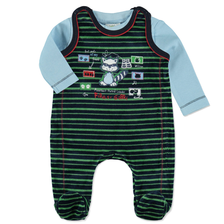 DIMO Boys Nicki Strampler Set 2-teilig navy