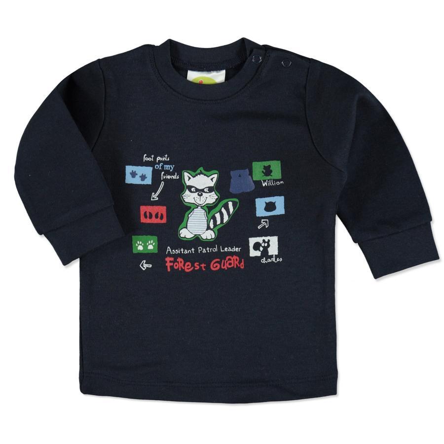DIMO-TEX Sweatshirt Waschbär navy