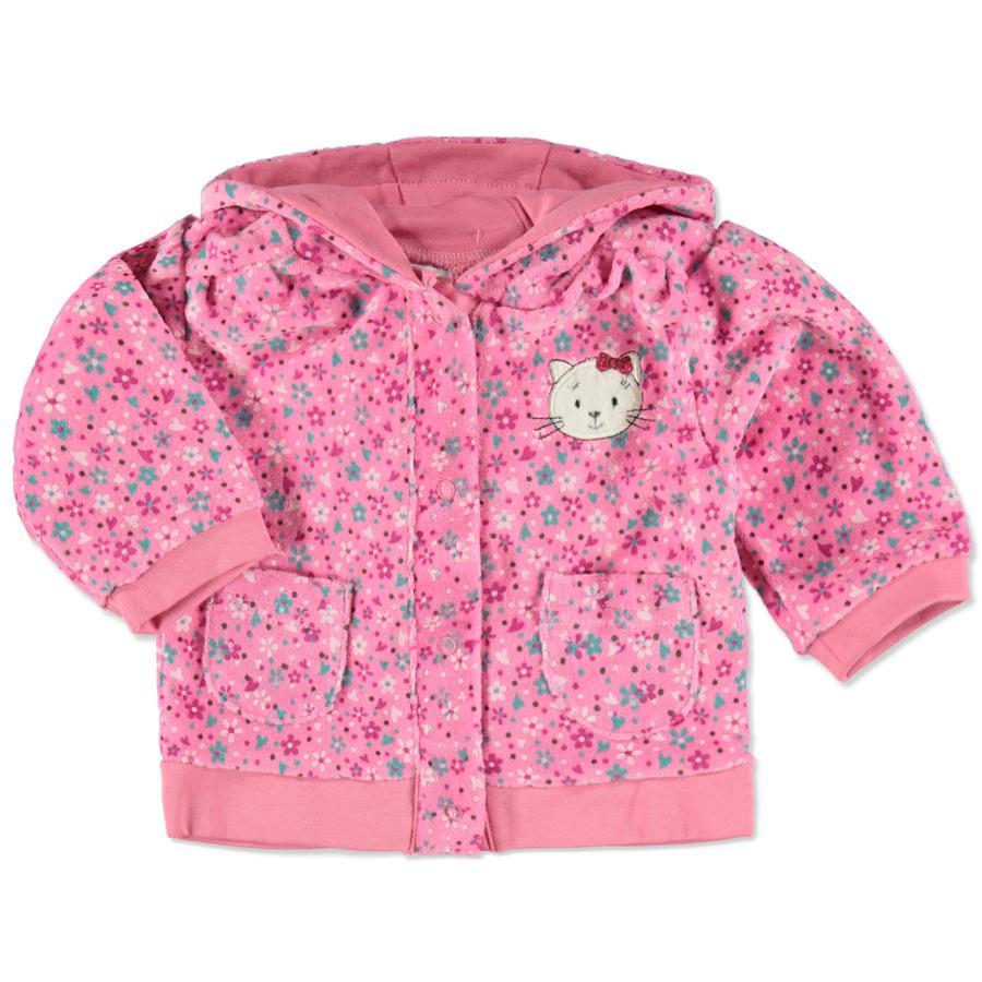 DIMO Girl 's velour jacket rosé