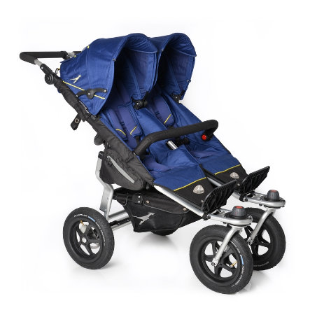 tfk Passeggino gemellare Twin Adventure Twilight blue