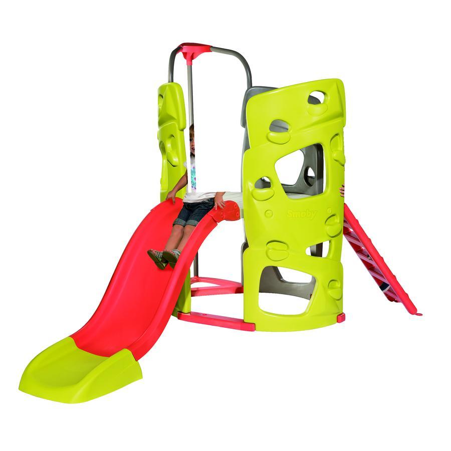 smoby abenteuer-kletterturm mit rutsche - babymarkt.de
