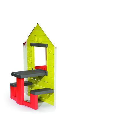 Smoby Mein Haus mit Picknicktisch