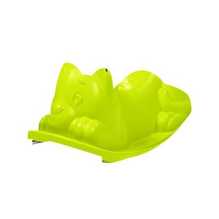 Smoby houpací kočka zelená