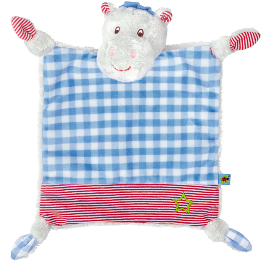 COPPENRATH Schnuffeltuch Hippo BabyGlück