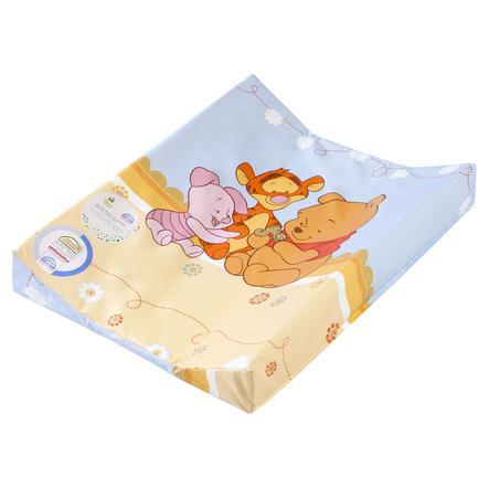 JULIUS ZÖLLNER Dvouklínová přebalovací podložka Baby Pooh and Friends modrá 50 x 65 cm