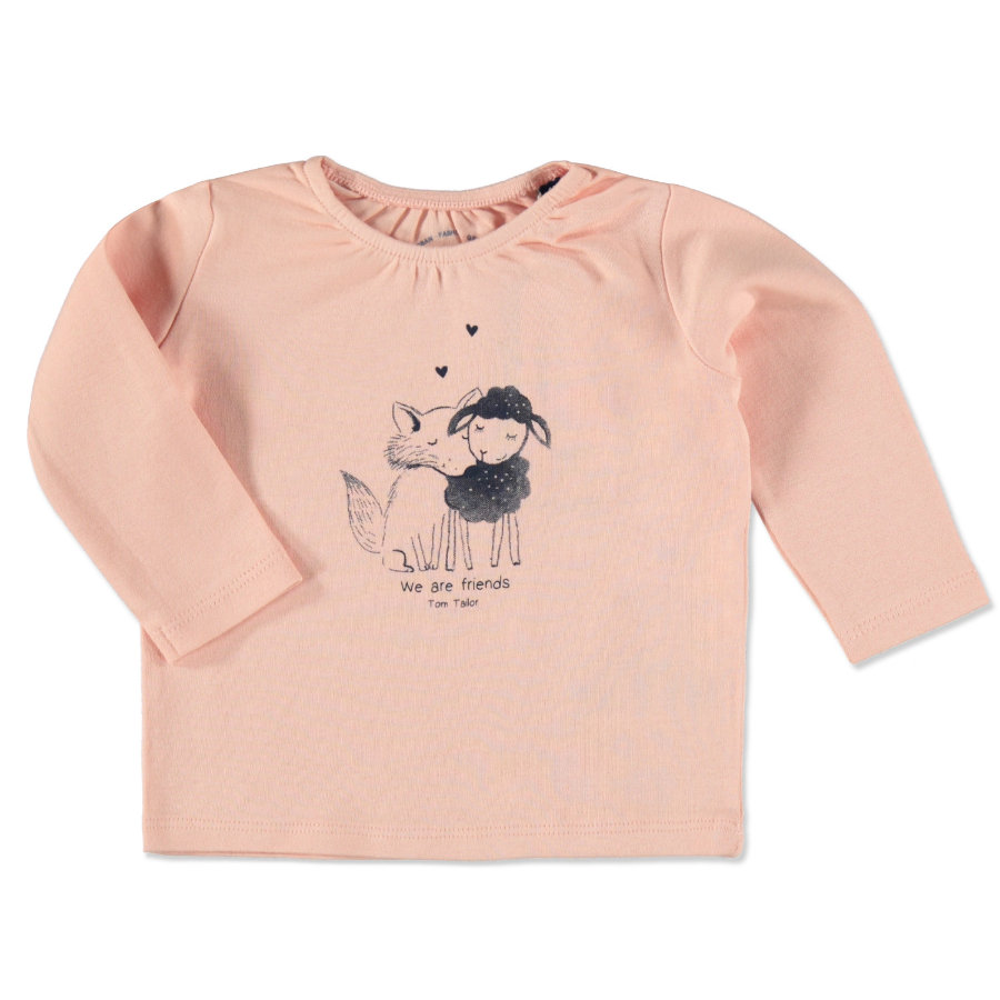 TOM TAILOR Girls Longsleeve rosé