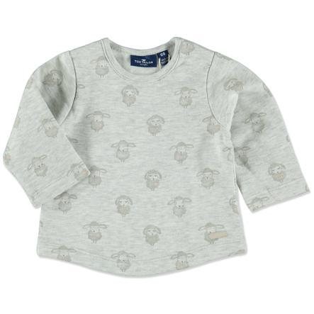 TOM TAILOR Girls Sweatshirt grey melange