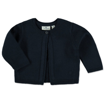 TOM TAILOR Girls Strickjacke dark blue