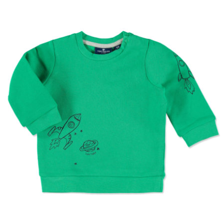 TOM TAILOR Boys Sweatshirt vert