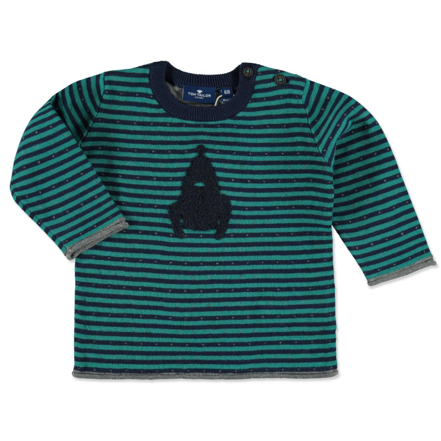 TOM TAILOR Boys Pullover green