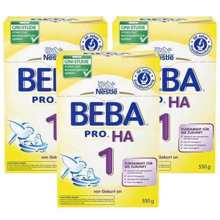 NESTLE Beba HA 1 Formula 3x550g