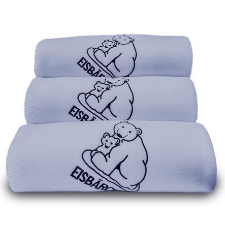 Heitmann Flísová deka lední medvídek světle modrá