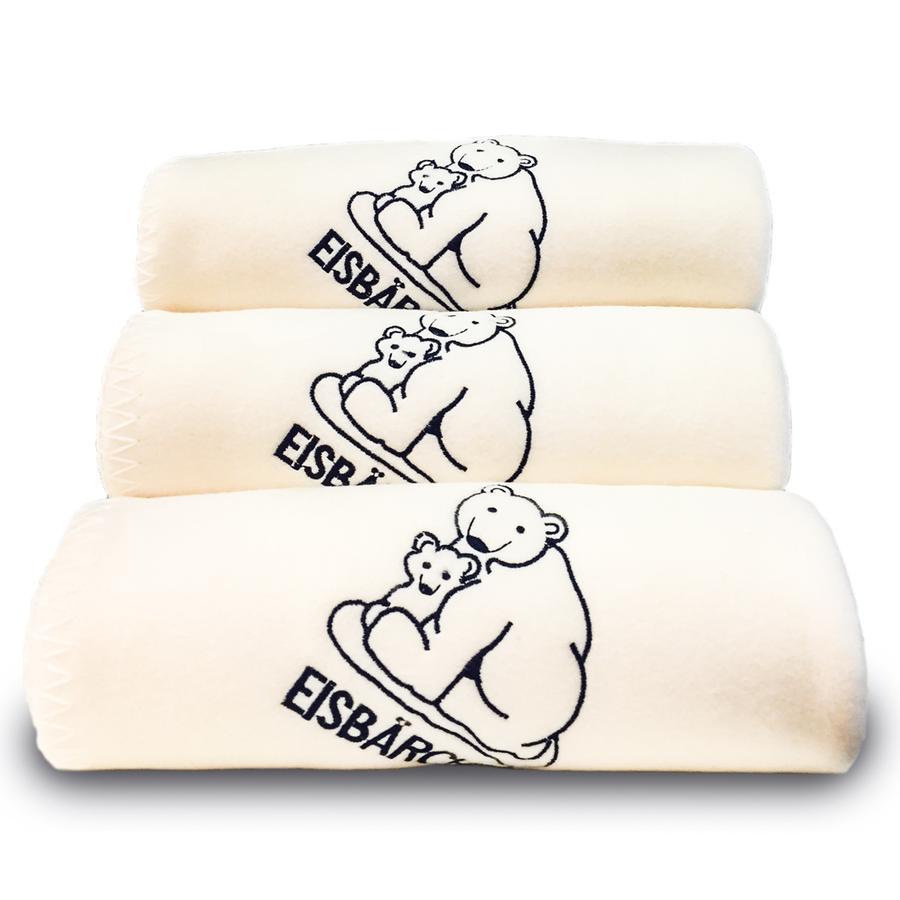 Heitmann Flísová deka lední medvídek přírodně bílá