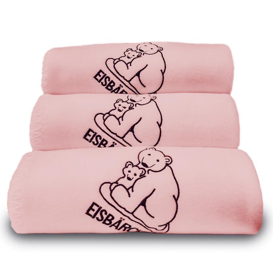 Heitmann Flísová deka lední medvídek růžová