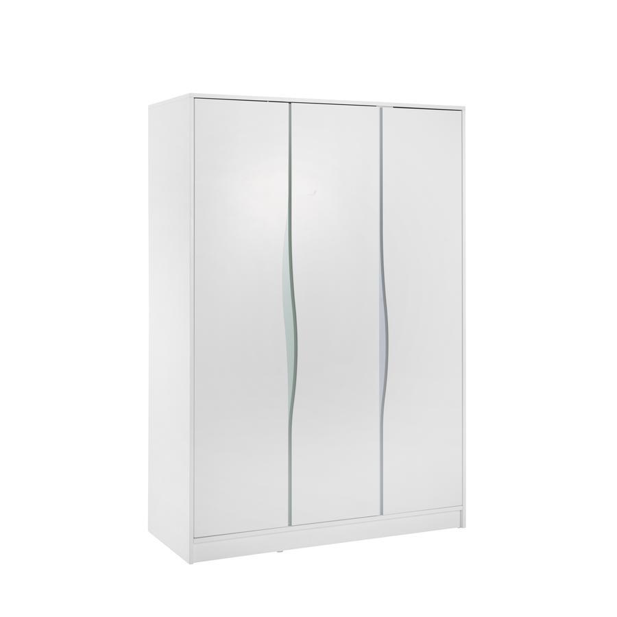 Geuther Kledingkast Wave pastel 3-deurs
