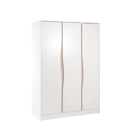 Geuther Armoire enfant bébé Wave 3 portes naturel