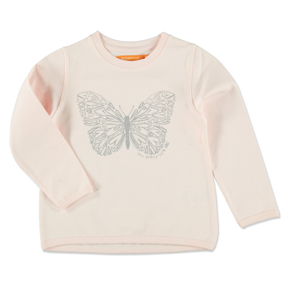 STACCATO Girl s Sweat-shirt rose clair