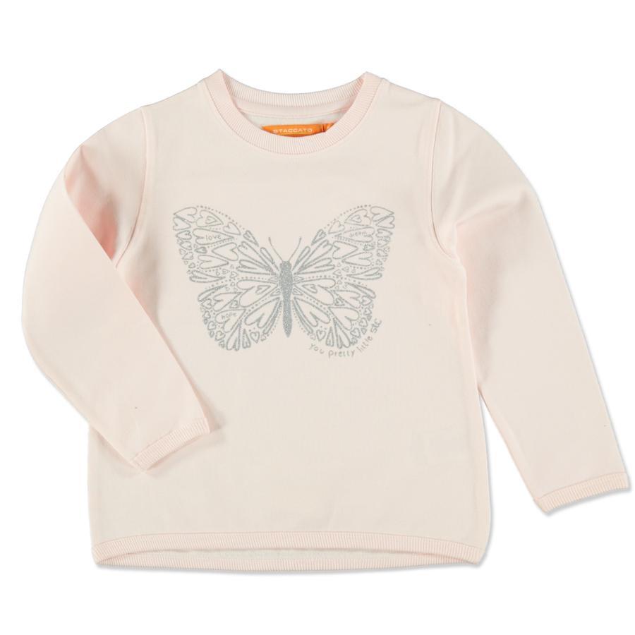 STACCATO Sweatshirt för flickor ljusrosa