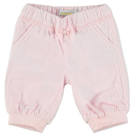 STACCATO Girl Pantaloni di velluto a coste rosa selvatica