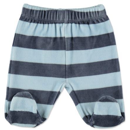 STACCATO Boys Spodnie Nicki szary niebieski pasek.