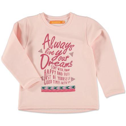 STACCATO Girl s Camisa rosa claro mélange