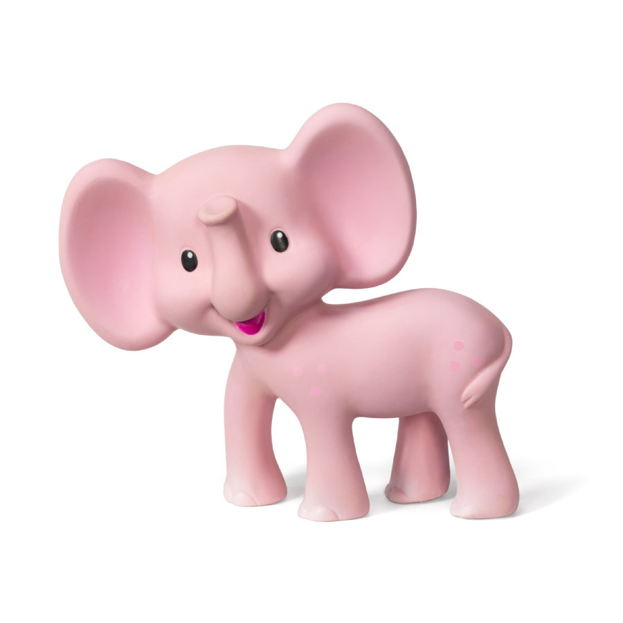 B kids® by Infantino Squeeze and Teethe - Pink Elephant