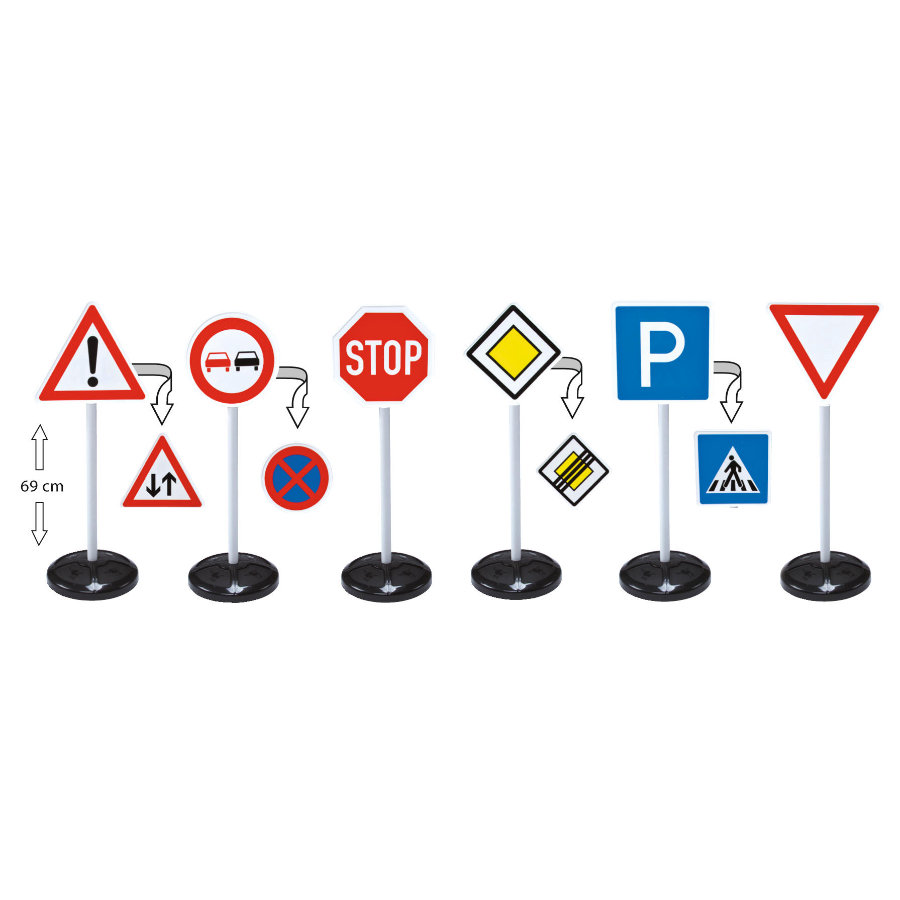 BIG Segnaletica Stradale Signs-Mega-Set