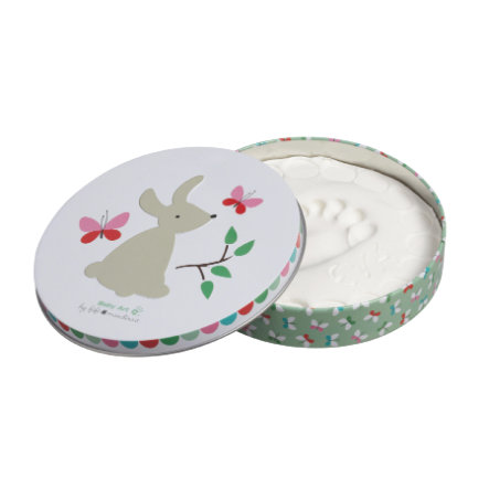 Baby Art Gipsafdruk Set - Magic Box, Rond, Bunny - Limited Edition