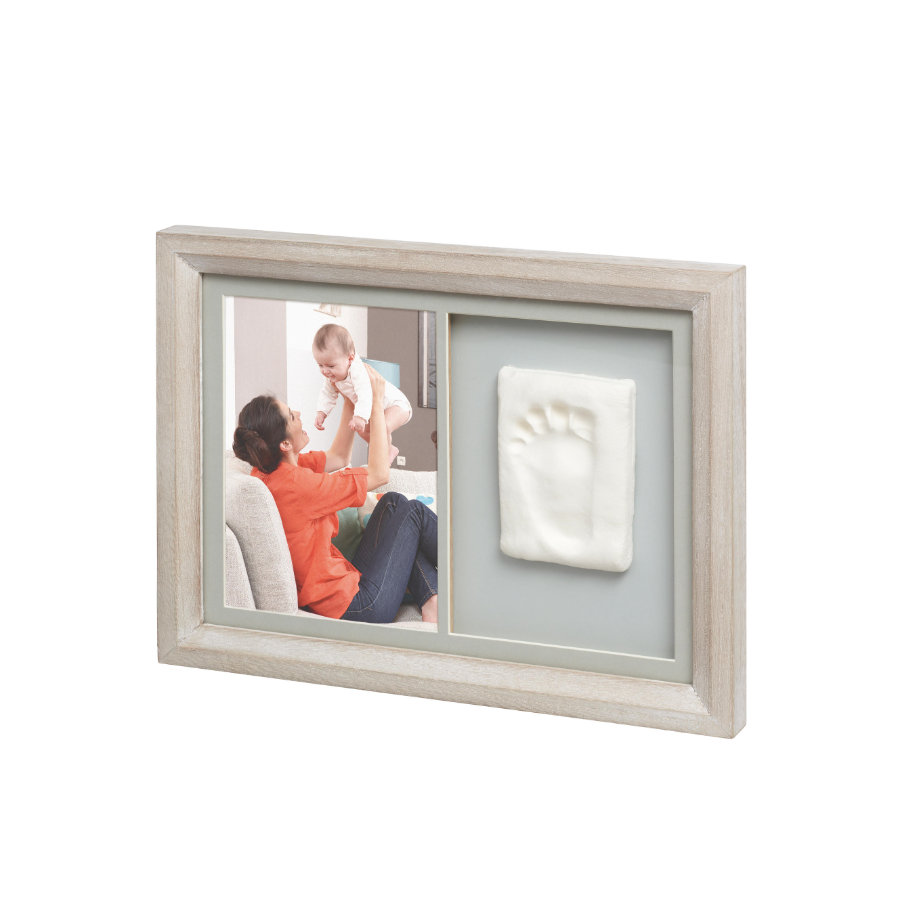 BABY ART Cornice foto con calco - Tiny Touch Print Frame Stormy