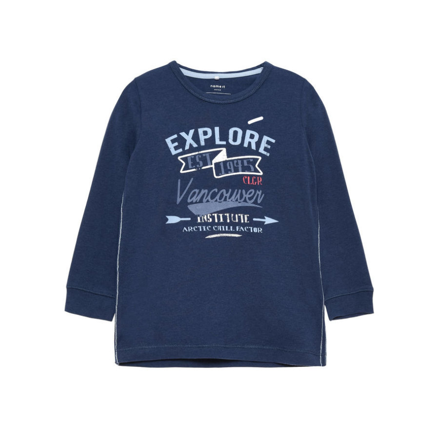 name it Boys Longsleeve Hans dress blues