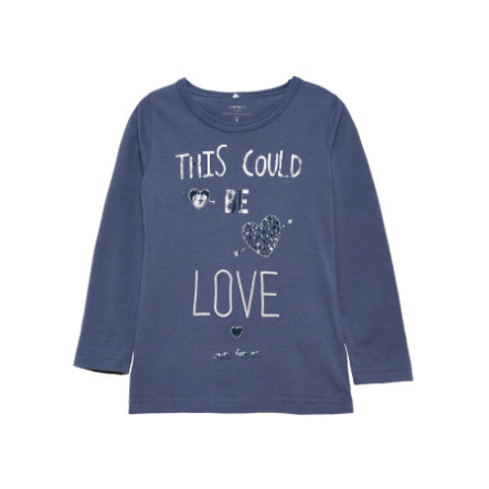 name it Girls Longsleeve Frida vintage indigo