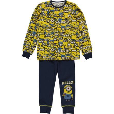 name it Boys Pyjama 2-pièces Minions robe bleu bleuté
