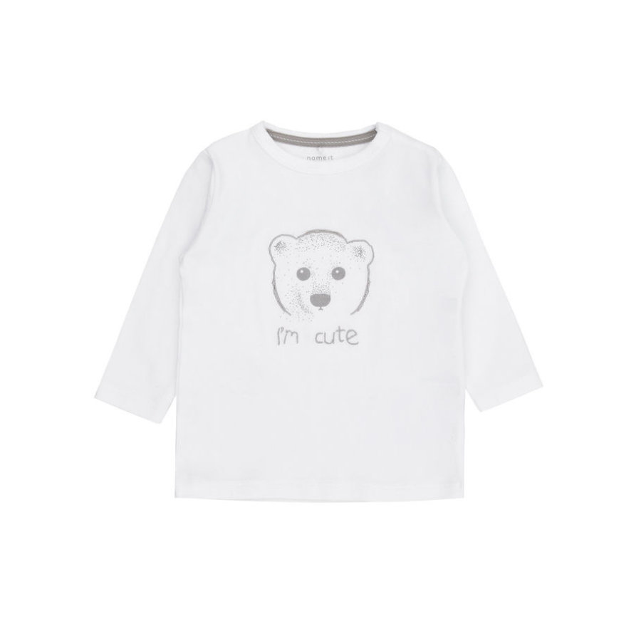 name it Longsleeve Ubs bright white