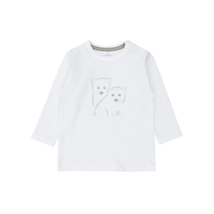 name it Longsleeve Ubbes bright white