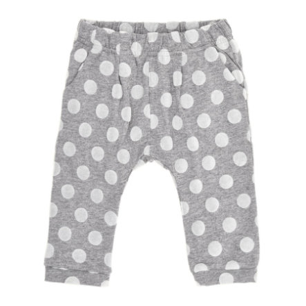 name it Girls Nicki-Hose Prik grey melange